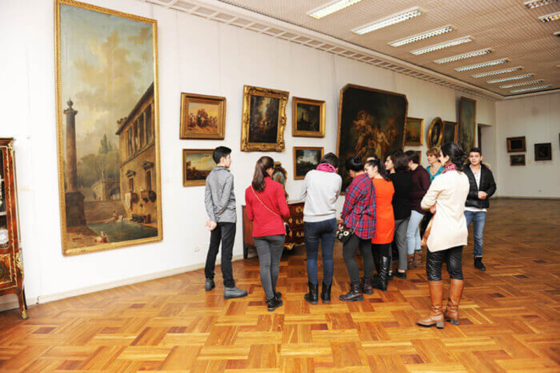 экспозиция западноевропейской живописи
