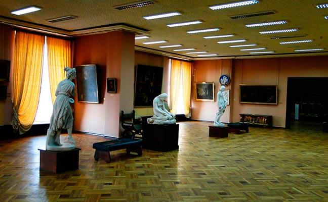 экспозиция французского искусства