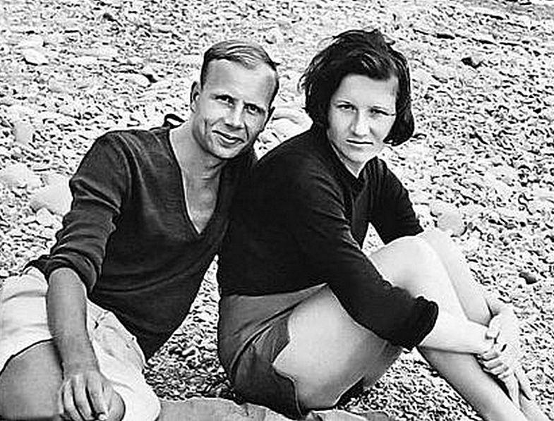 Елена Пуговкина и ее муж Владислав