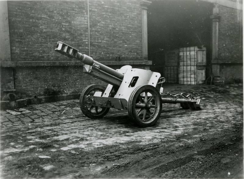 Немецкое противотанковое орудие