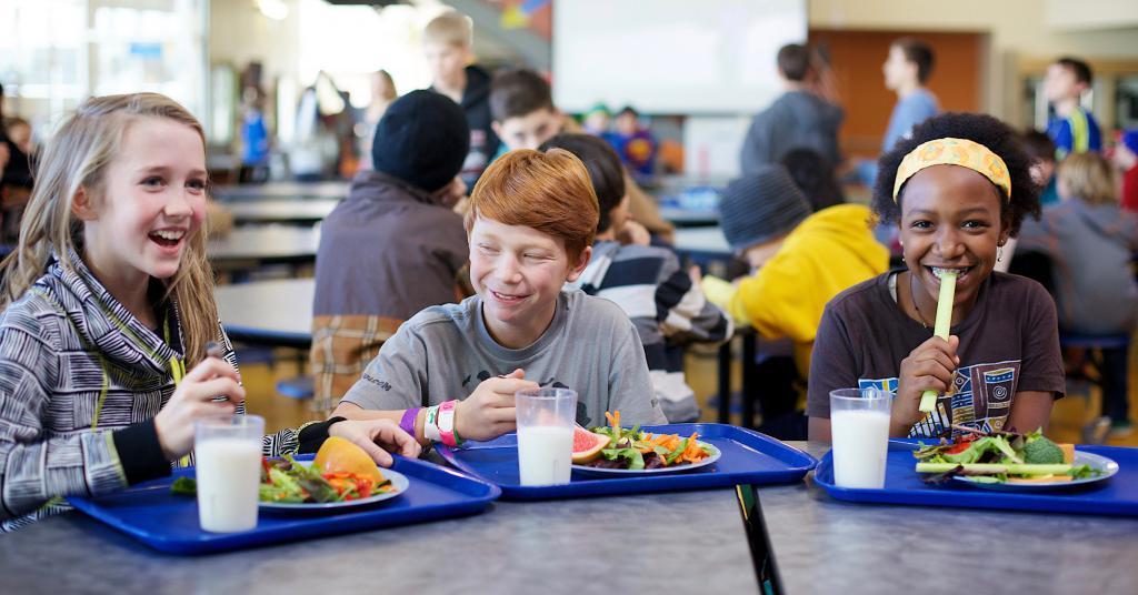 горячее питание в школе