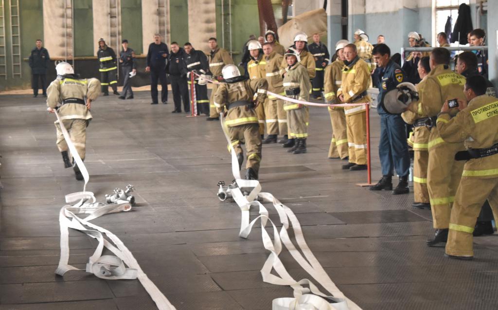 проведение пожарно строевой подготовки