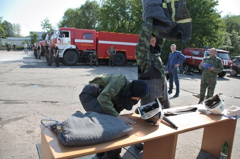 нормативы по пожарно строевой подготовке