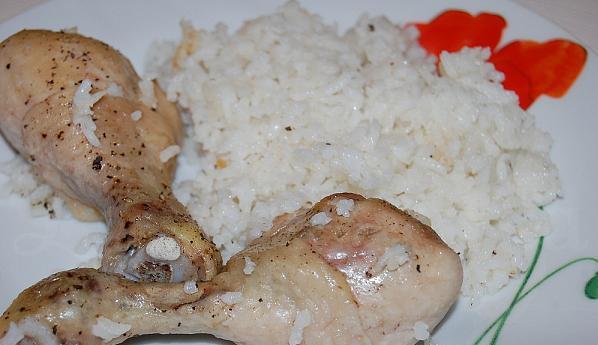 Рис с голенью