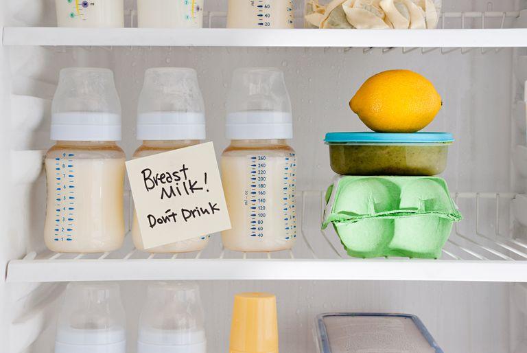 Как разогреть грудное молоко
