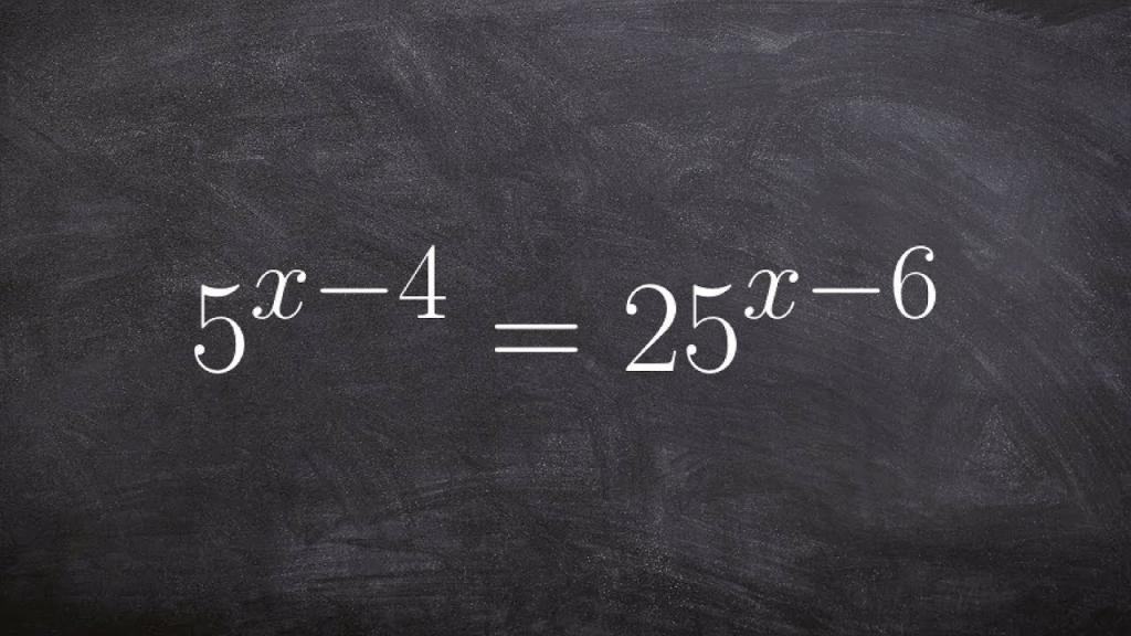 Показательное уравнение.