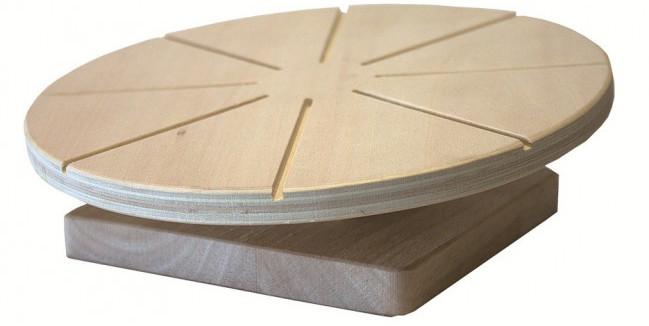 Деревянный диск