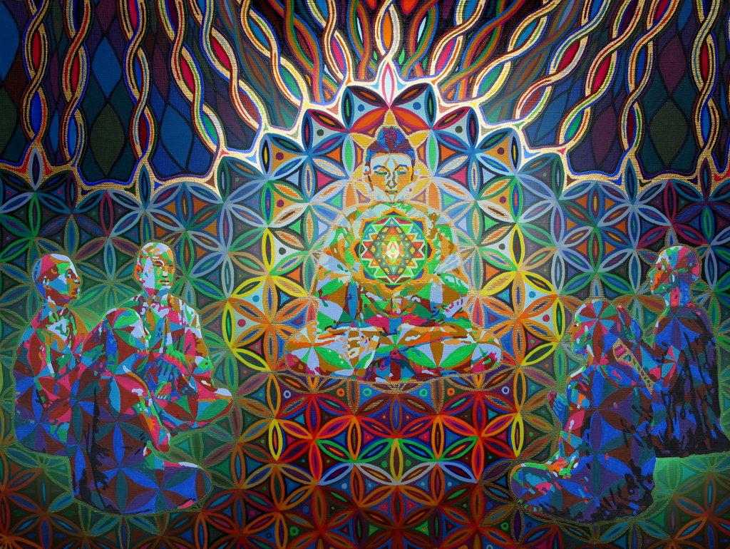 Энергетические потоки - медитация