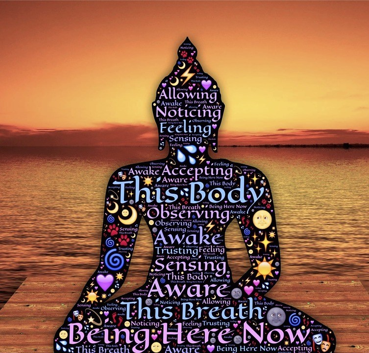Схематичное изображение Будды