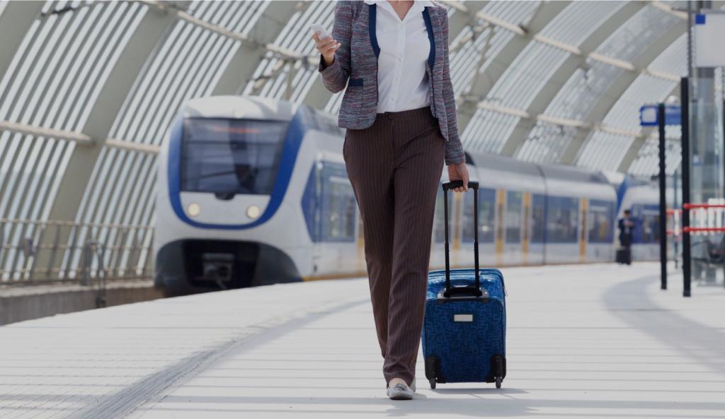 Пассажир с багажом