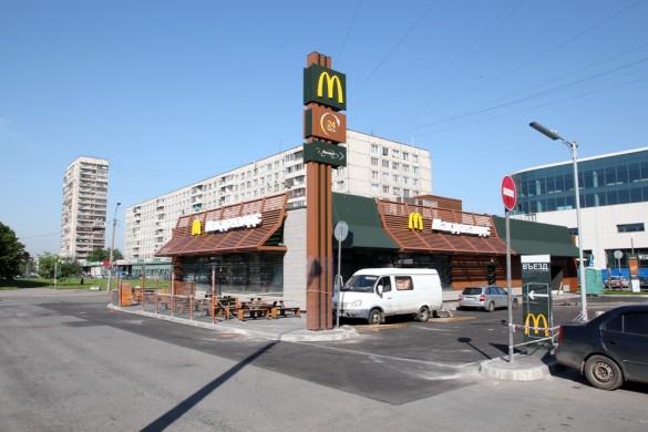Макдональдс в Петербурге