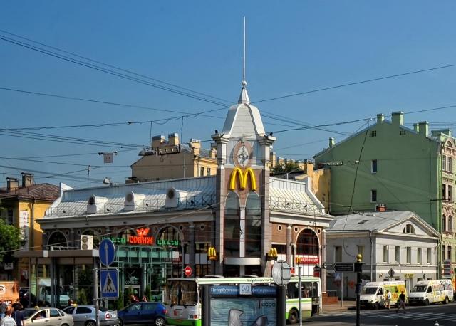 Макдональдс в СПб