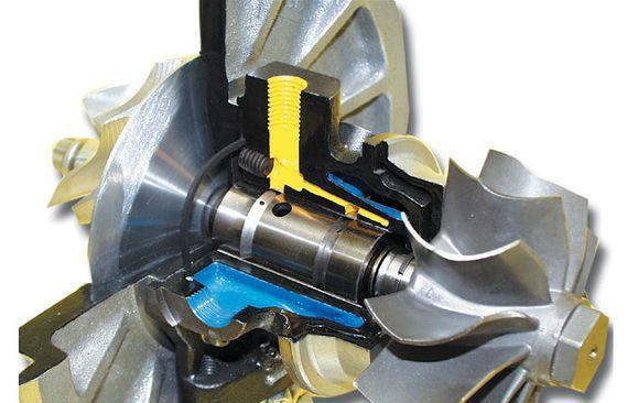 как работает турбина на дизельном