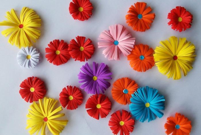 Цветы своими руками из бумаги ко дню учителя