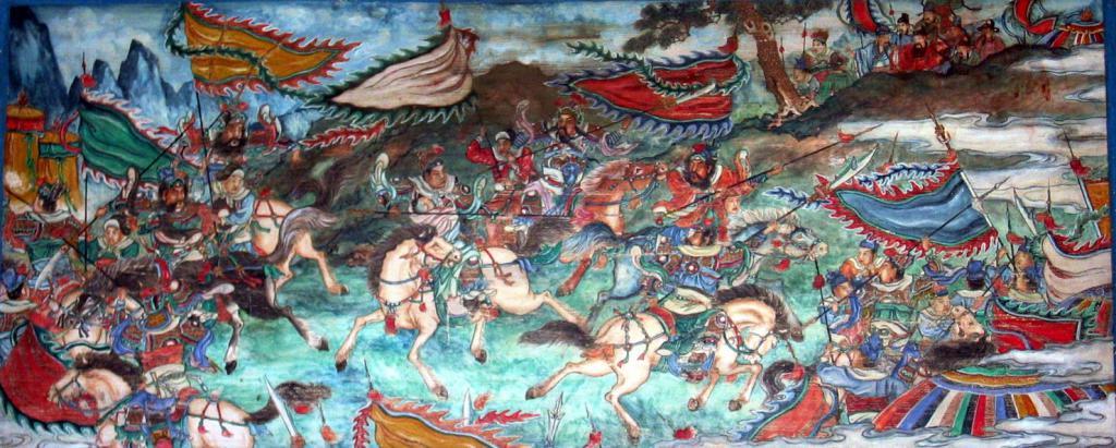 Чжугэ Лян - битва