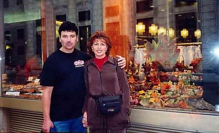 Яков Циперович с женой Кариной