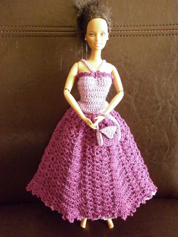 пример простого бального платья