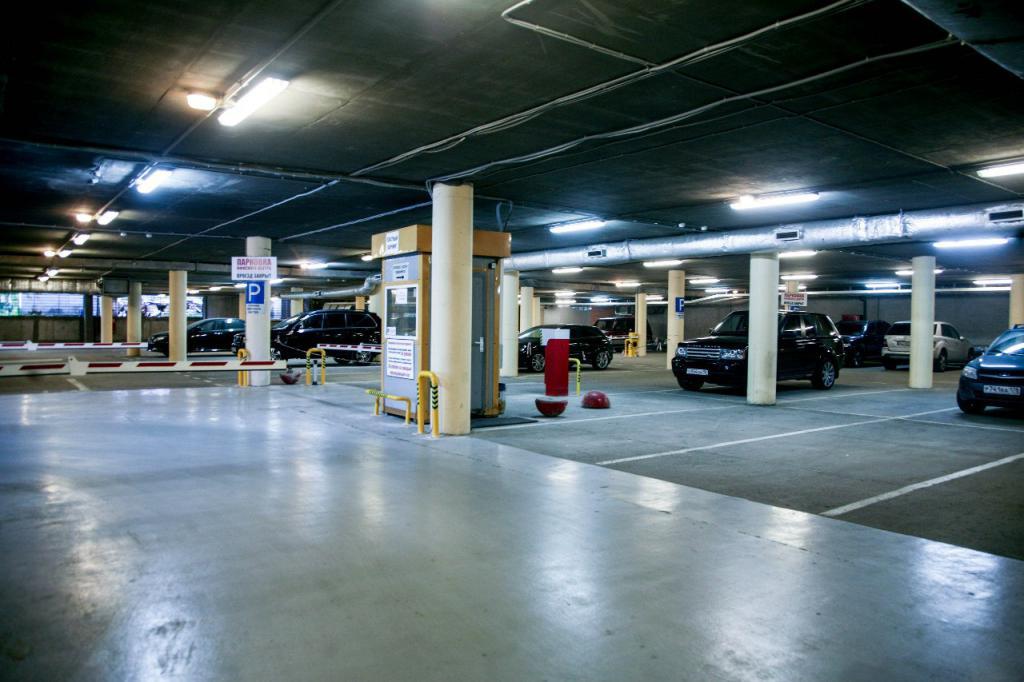 Подземный паркинг тц