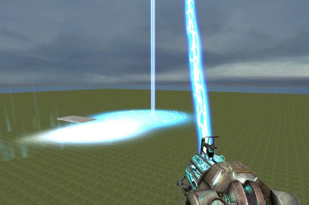 Ионная пушка в Garry's Mod