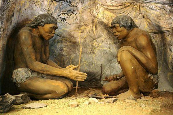Добыча огня древними людьми