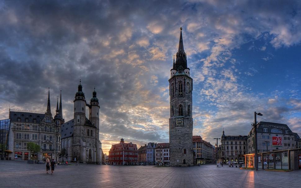 Германский город Галле