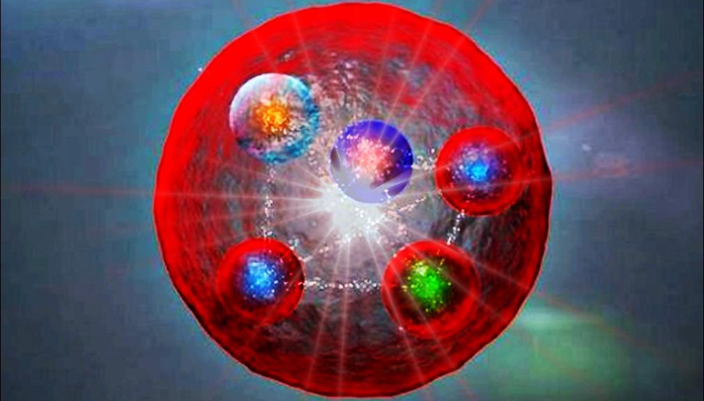 Адрон из пяти кварков