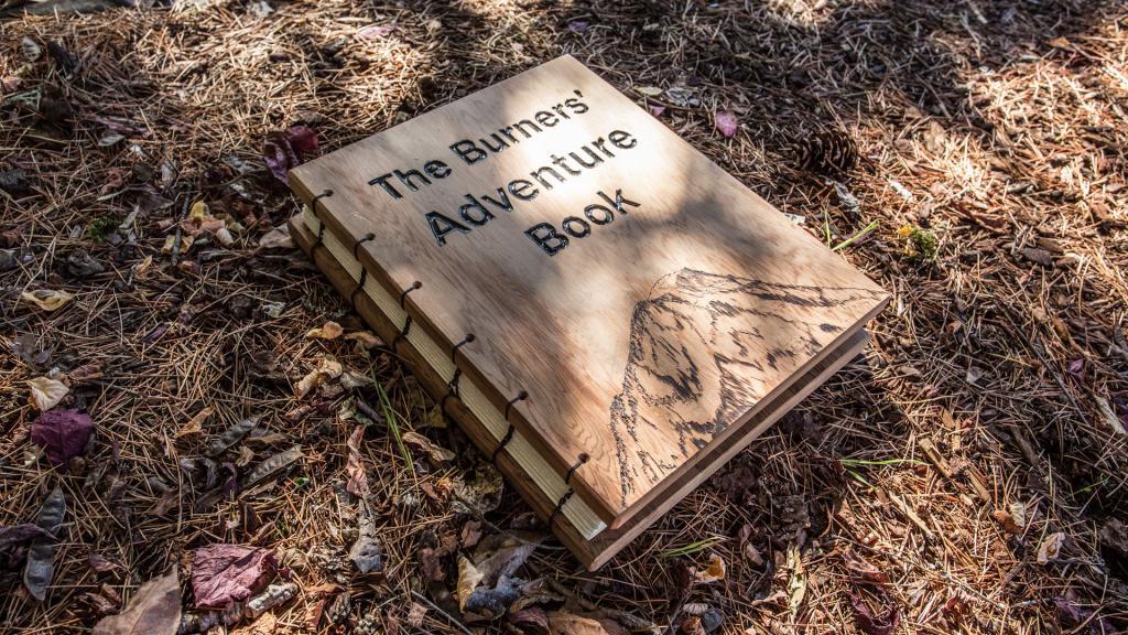 Рукотворная книга для скрапбукинга