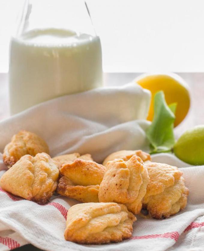 печенье ракушки рецепт