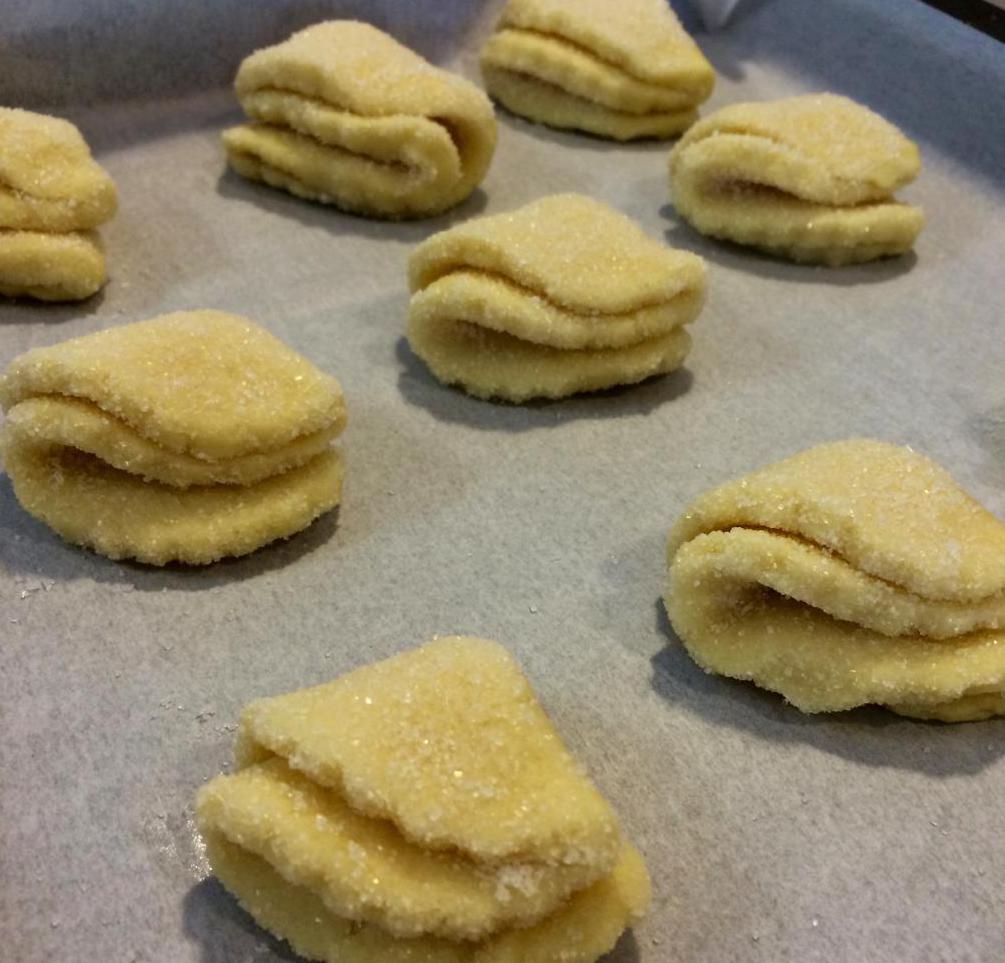 печенье творожное ракушки фото