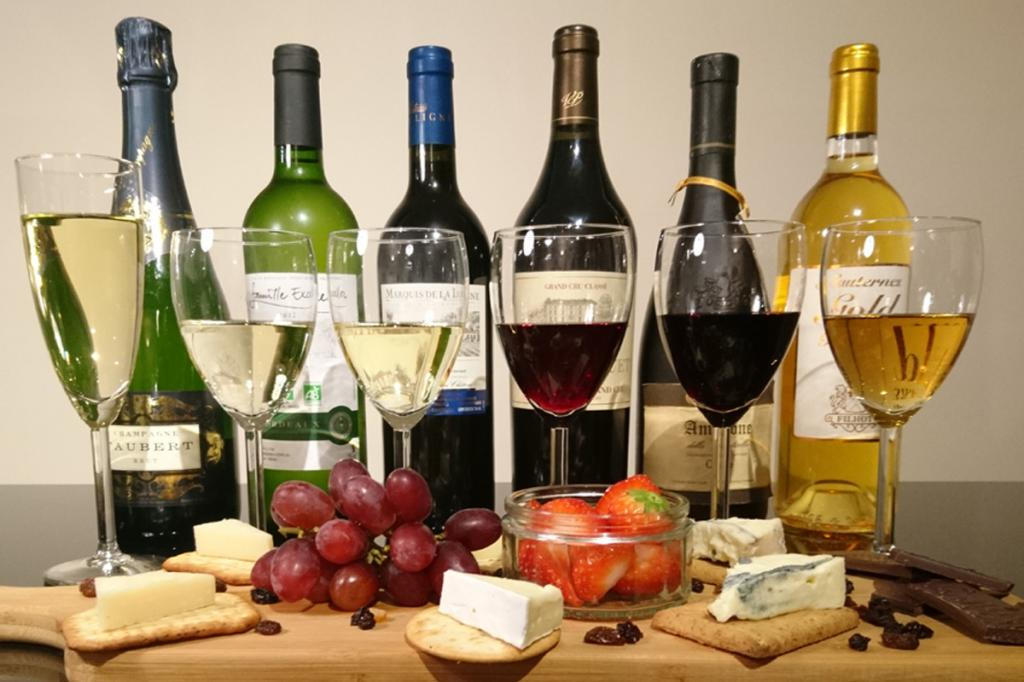 Такое разное вино