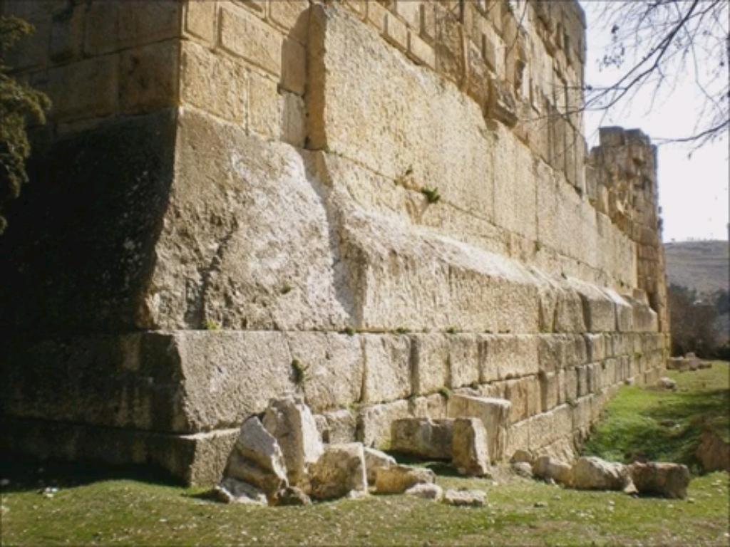 Трилитон храмового комплекса