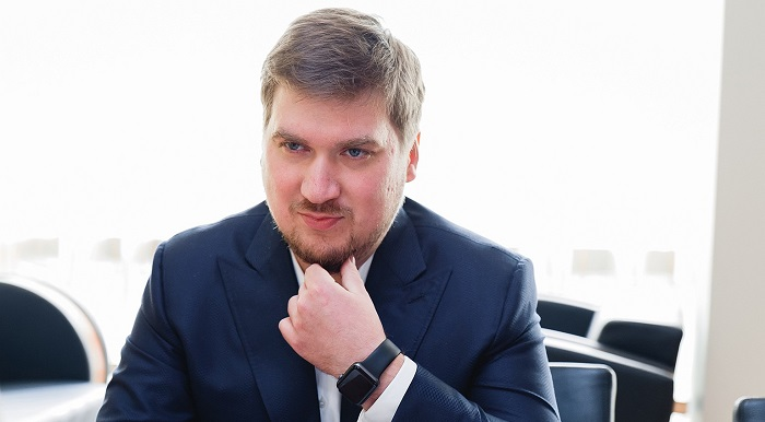 Сын основателя Константин Ощепков