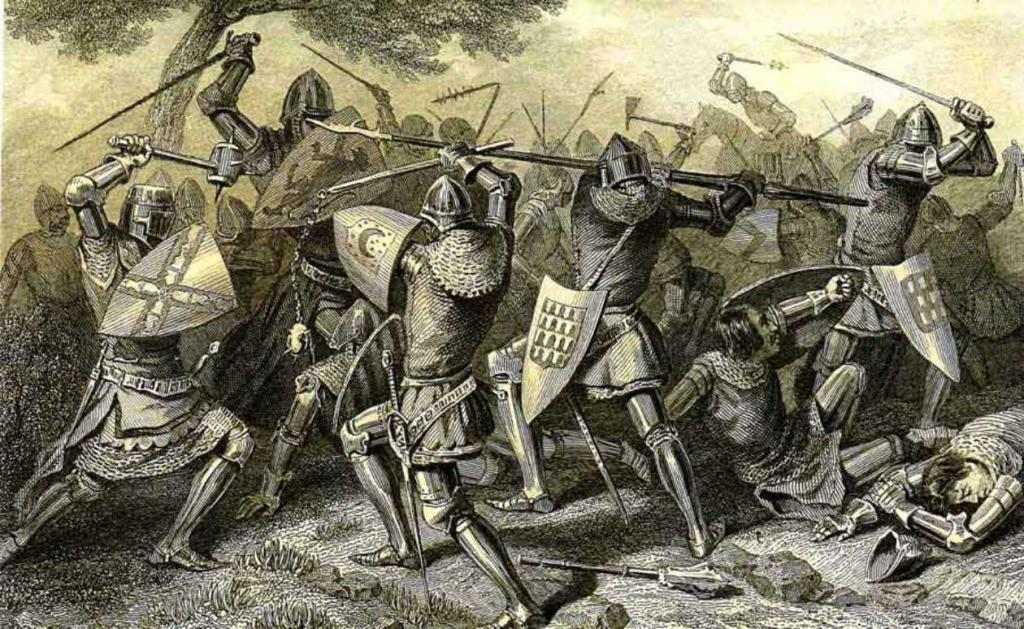 средневековые вассалы и сюзерены