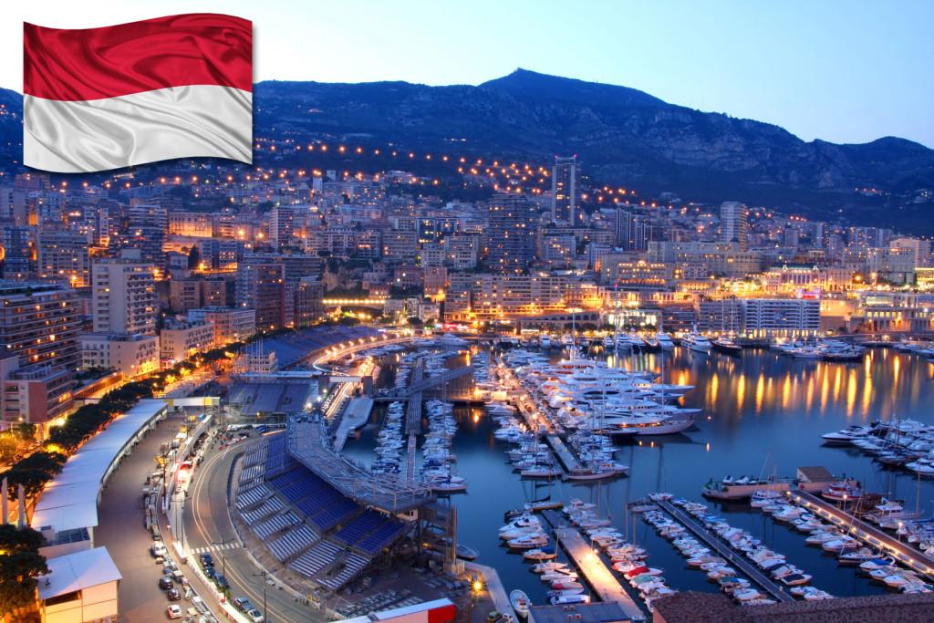 герб княжества монако
