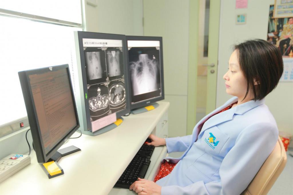 фото снимков при пневмонии