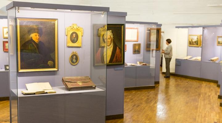 Экспозиция в литературном музее