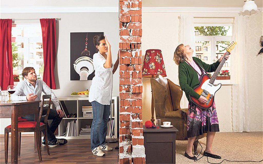 Уровень шума в квартире