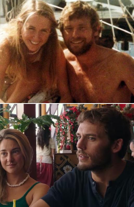 Ричард Шарп и Тами в жизни и в кино