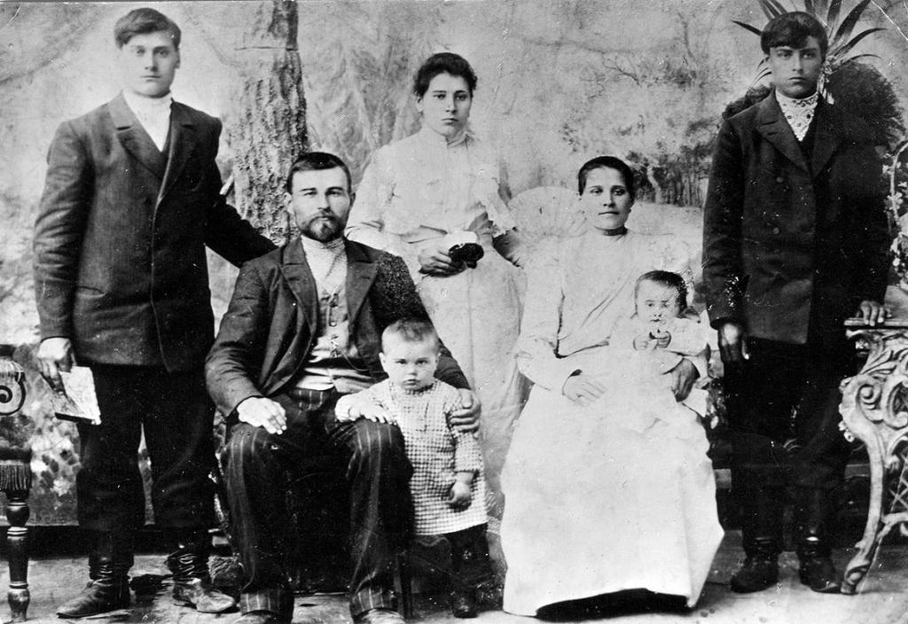 Семья Баевых