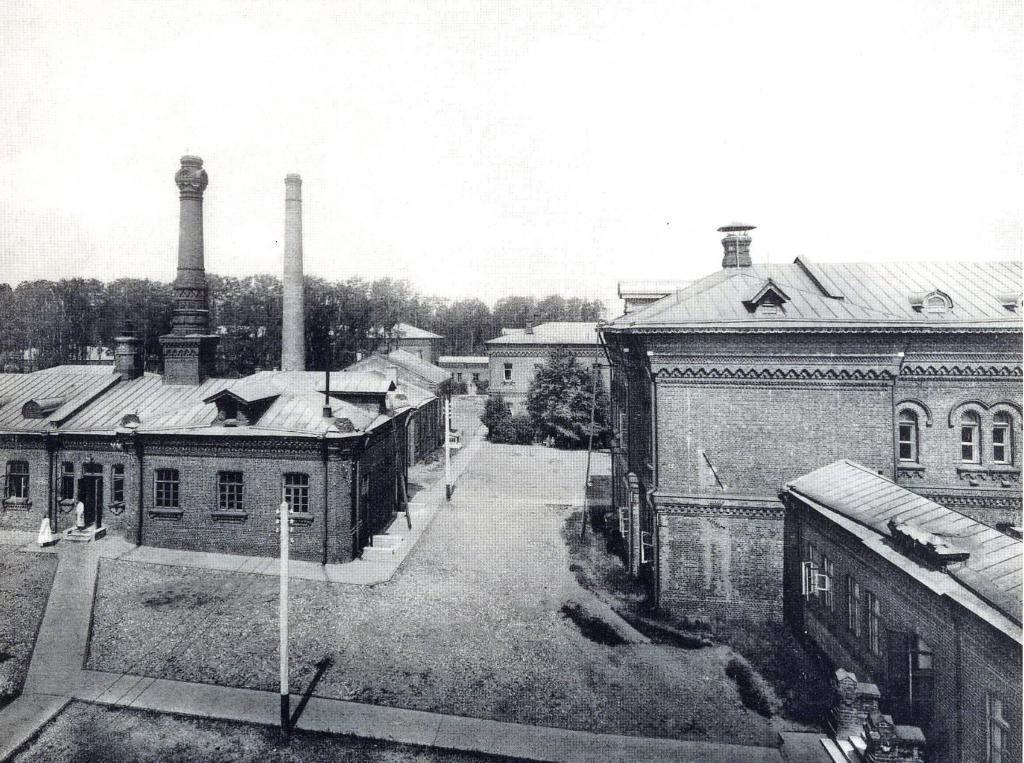 Старое фото больницы