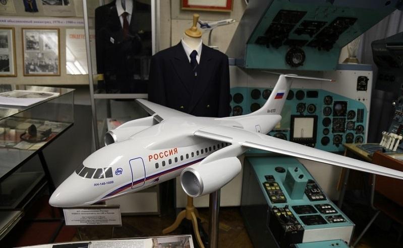 Экспонат музея гражданской авиации