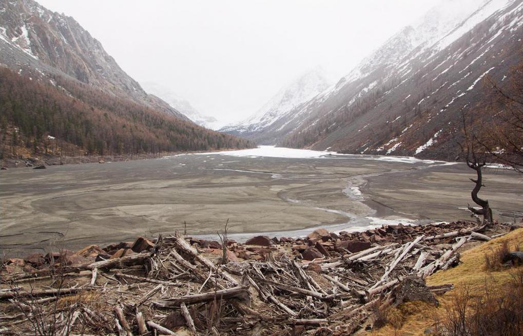 Котловина бывшего озера