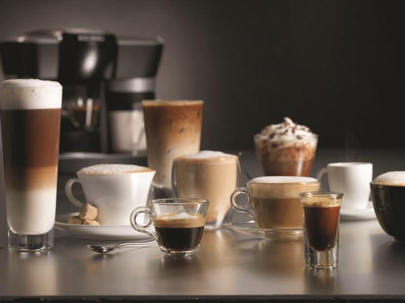 Возможности приготовления кофе