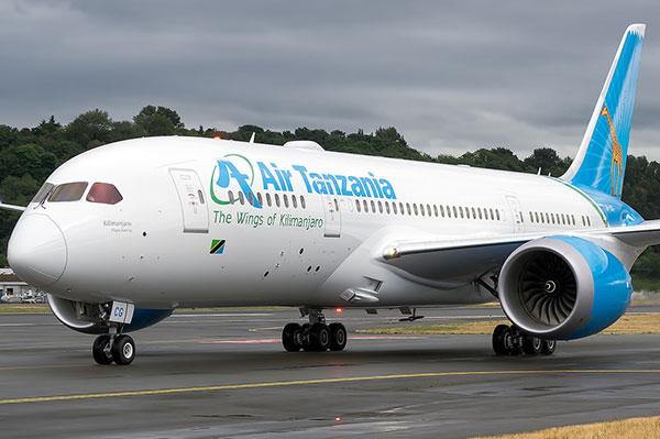 самолеты Танзании