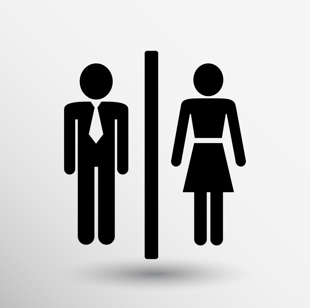 Обозначения туалета
