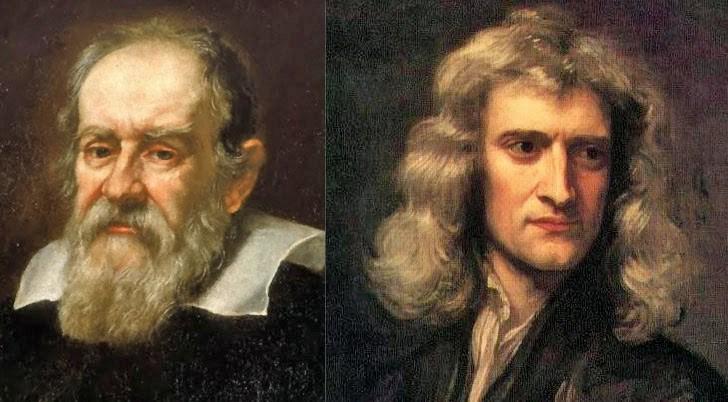 Галилей и Ньютон