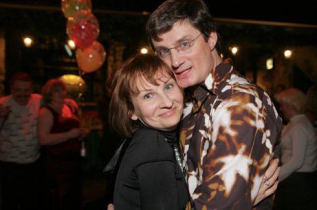 Кондратюк с супругой