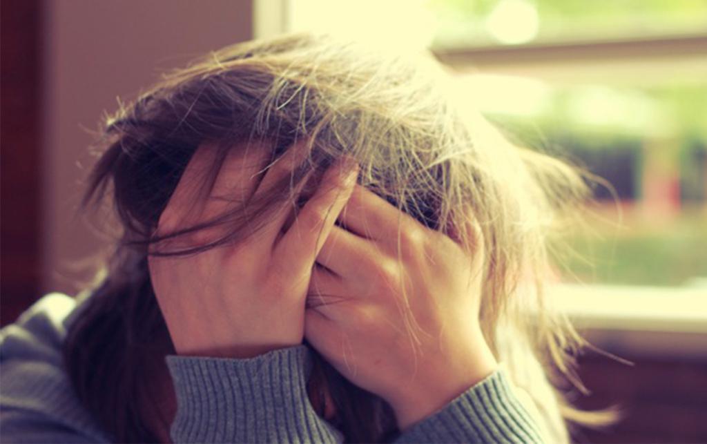 человек в состоянии стресса