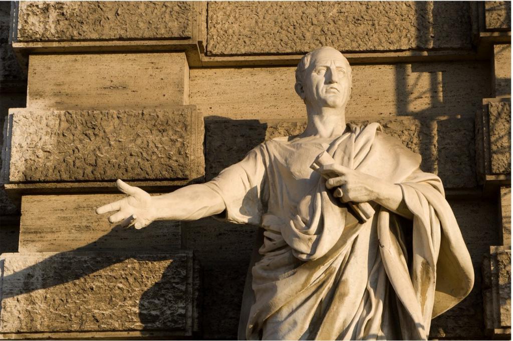 Римская статуя Цицерона