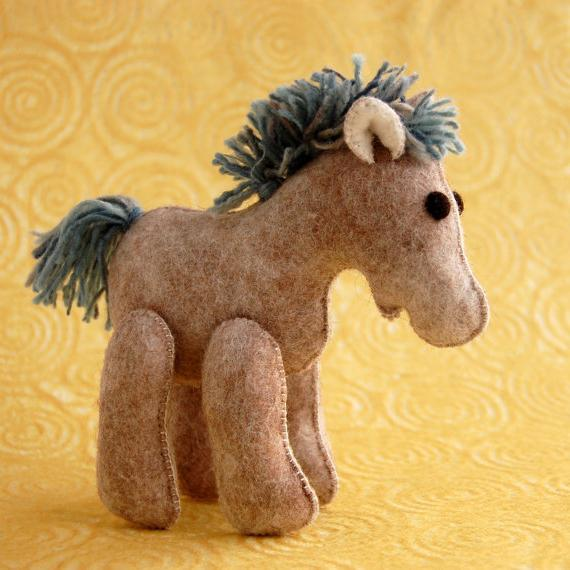 из чего можно сделать лошадь